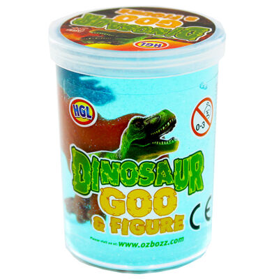 Dinosaur Goo and Figure - Assorted image number 1