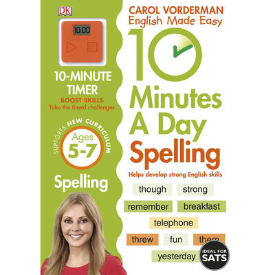 10 Minutes A Day: Spelling - Ages 5-7 image number 1