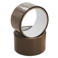 Brown Parcel Tape - 2 Rolls