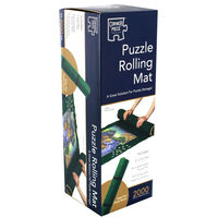 Marina View & Greengrocers 500 Piece Jigsaw Puzzle with Puzzle Rolling Mat Bundle