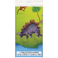 Dinosaur Plastic Table Cover