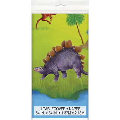Dinosaur Plastic Table Cover image number 1
