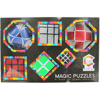 Magic Cube Puzzles 6 Pack