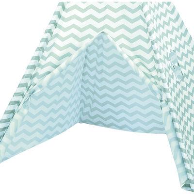 Blue Zigzag Teepee Tent image number 3