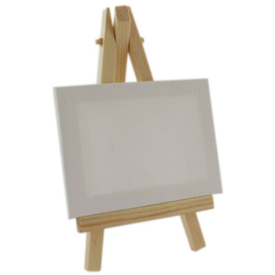 Mini Canvas And Easel 9cm x 7cm image number 1