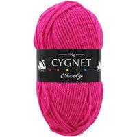 Cygnet Chunky Fuchsia Yarn - 100g