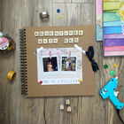 Create Your Own Kraft Scrapbook - 8 x 8 Inches image number 4