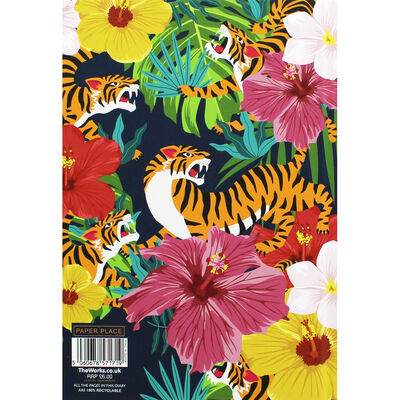 A5 Tiger Brights Week to View 2020-21 Academic Diary image number 3