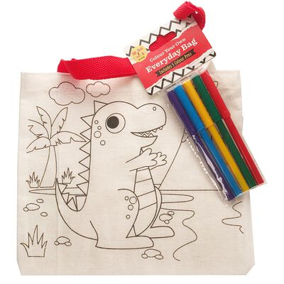 Colour Your Own Bag Assorted image number 3