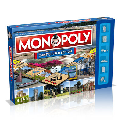 Christchurch Monopoly Board Game image number 1