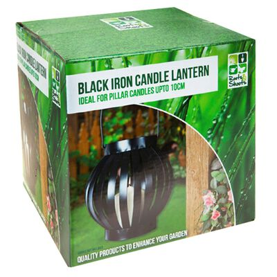 Black Candle Lantern image number 1
