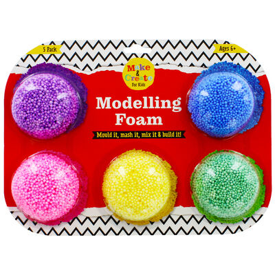 Bead Modelling Foam - 5 Pack image number 1