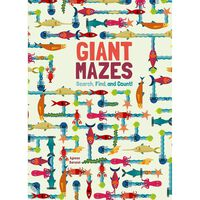 Giant Mazes: Search, Find and Count