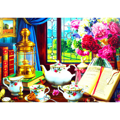 Time for Tea 500 Piece Jigsaw Puzzle image number 3
