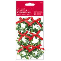 Mini Wreath Embellishments: Pack of 6