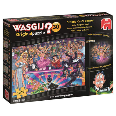 Wasgij Original 30 Strictly Can't Dance 1000 Piece Jigsaw Puzzle image number 1
