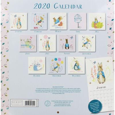 Peter Rabbit 2020 Square Calendar image number 2