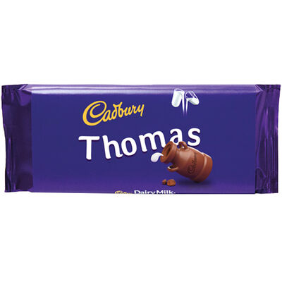 Cadbury Dairy Milk Chocolate Bar 110g - Thomas image number 1
