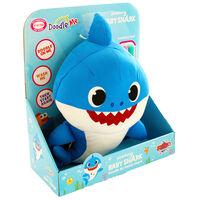 Doodle Me Blue Daddy Shark Plush