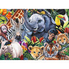 Jungle Babies 500 Piece Jigsaw Puzzle image number 2