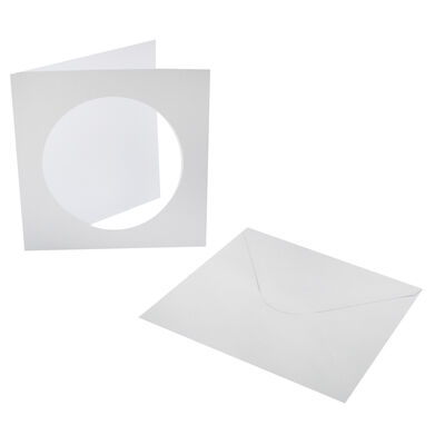 Window Cut Cards And Envelopes - Pack Of 10 image number 3