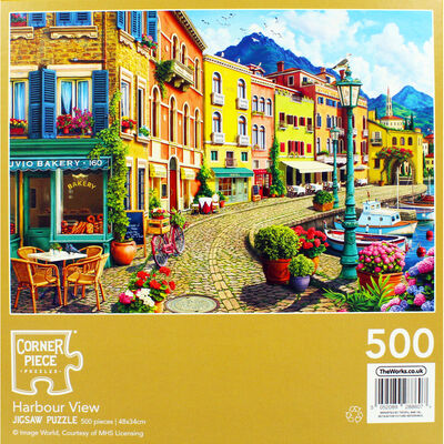 Harbour View 500 Piece Jigsaw Puzzle image number 4