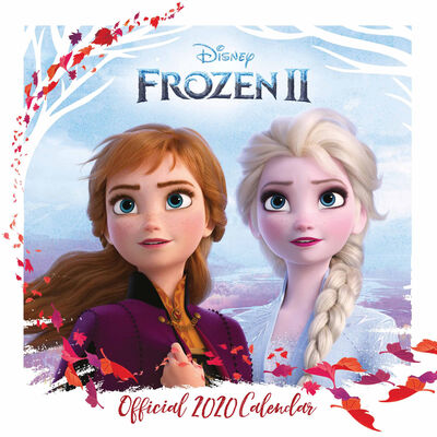 Disney Frozen 2 Official 2020 Calendar image number 1