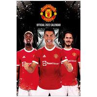 A3 Official Manchester United 2022 Calendar