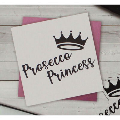 Crafters Companion Clear Acrylic Stamp - Prosecco Princess image number 2