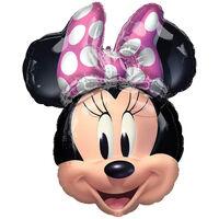 26 Inch Minnie Mouse Super Shape Helium Balloon