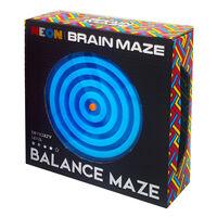 Neon Brain Maze Balance Maze