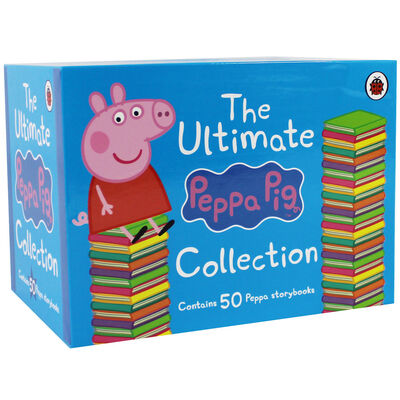 The Ultimate Peppa Pig Collection: 50 Book Box Set image number 1