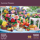 Summer Flowers 1000 Piece Jigsaw Puzzle image number 1