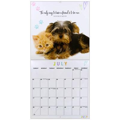 Furry Friends 2022 Square Calendar image number 2
