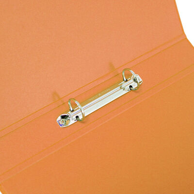 Bright Orange A4 Ring Binder File image number 2