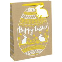 Medium Happy Easter Bunny Gift Bag