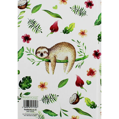 A5 Philo-sloth-ical Week to View 2020-21 Academic Diary image number 3