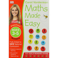 Maths Made Easy: Ages 3-5