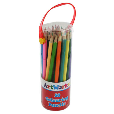 Colouring Pencils - Set Of 50 image number 1