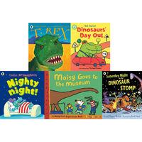 Dinosaurs Galore: 10 Kids Picture Books Bundle