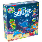 Dough-Tastic Glow in the Dark Sealife Set image number 1