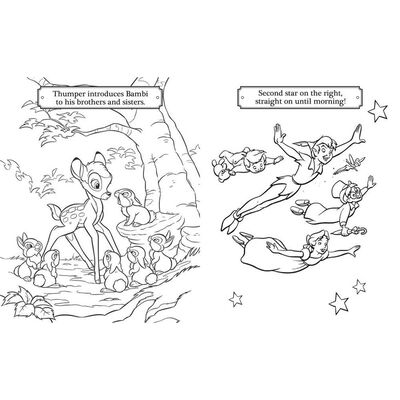 Disney ClassicSimply Colouring image number 3