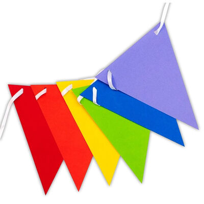 Pennant Rainbow Banner image number 2