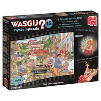 Wasgij Mystery 15 A Typical British BBQ 1000 Piece Jigsaw Puzzle