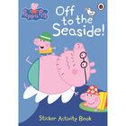Peppa Pig: Off To The Seaside Sticker Activity Book image number 1