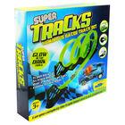 Glow in the Dark Super Tracks Racer Set image number 1