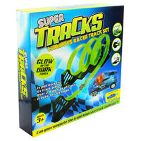 Glow in the Dark Super Tracks Racer Set