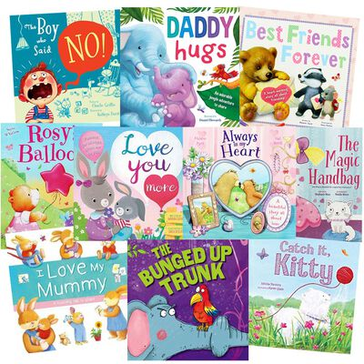 Story-Time Snuggles: 10 Kids Picture Books Bundle image number 1