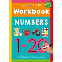 Wipe Clean Workbook: Numbers