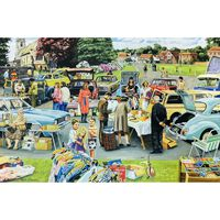 Car Boot Sale 1000 Piece Jigsaw Puzzle